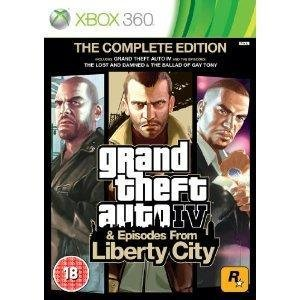 Grand Theft Auto IV Complete Edition XB360